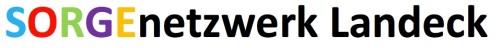 Schriftzug SORGEnetzwerk Landeck